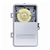 T101PCD82 - 40A 120V SPST Plastic Clear Cover Time Clock - Intermatic Inc.