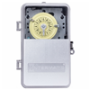T103PCD82 - 40A 120V DPST Plastic Clear Cover Time Clock - Intermatic