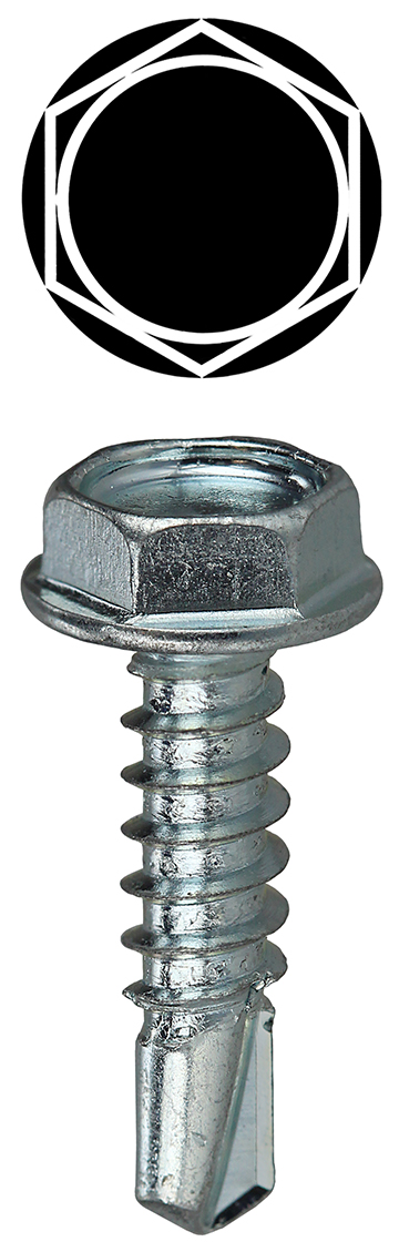 No.6 by 2-Inch Length Dottie DWSBX62 Drywall Screw Bugle Head Phillips 100-Pack L.H Black Oxide