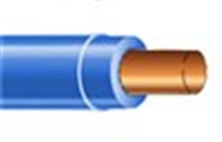 THHN10S0LBL500 - THHN 10 Sol Blue 500' - Copper
