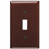 TP1 - 1G Switch Plate Brown - Pass & Seymour/Legrand