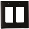 TP262BK - 2G Decor Plate - Pass & Seymour/Legrand