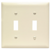 TP2LA - 2G Switch Plate - Pass & Seymour/Legrand