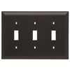 TP3BK - 3G Switch Plate - Pass & Seymour/Legrand