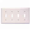TP4W - 4G Switch Plate - Pass & Seymour/Legrand