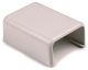 "TSR1FW14 - Splice Cover, 3/4"", PVC, Office WHT, 1/Bag - Hellermanntyton"