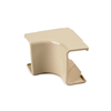 "TSR2W331 - Internal Corner Cover, 1-1/4"", 1"" Bend Radius, PVC - Hellermanntyton"