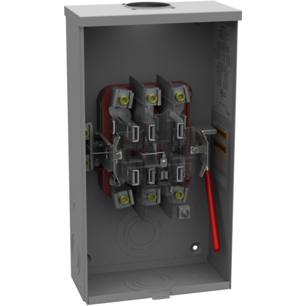 U2049RL U2049-RL Milbank 200A 3PH Oh 7T HD RL LVRElliott Electric Supply