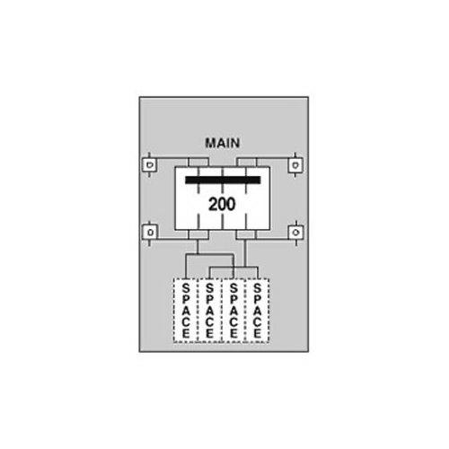 U281C1 - 200A Surface Unmtrd 9X21 on