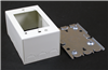 V5747 - STL Shallow Device Box Ivory - Wiremold
