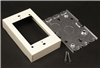 V5748S - STL Shallow Dev Box Ivory - Wiremold