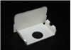 WH2010B - STL Blank End Fitting 2000 White - Wiremold