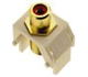 WP3462LA - Red Rca to F-Connector - Pass & Seymour/Legrand
