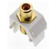 WP3462WH - Red Rca to WH F-Connector - Pass & Seymour/Legrand