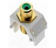 WP3463WH - GRN Rca to WH F-Connector - Pass & Seymour/Legrand