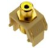 WP3465IV - Yel Rca to Iv F-Connector - Pass & Seymour/Legrand