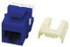 WP3476BE - Quick Connect CAT6 RJ45 Keystone Insert, Blue - Pass & Seymour/Legrand