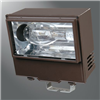 WP40 - 400W MH/PS Flood Multi-Tap Trunnion W/Lamp Bronze - Eaton Lighting