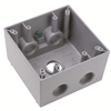 "WPBD352 - WP Deep Box 2G 5 Hole 3/4"" - Pass & Seymour/Legrand"