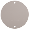 "WPRB1 - 4"" RND WP Gray Blank Cover - Pass & Seymour/Legrand"